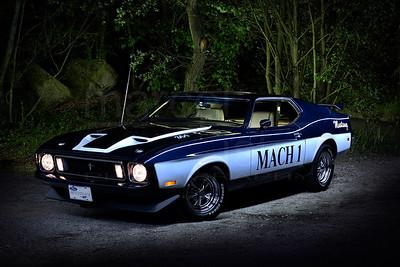 Mustang Mach 1 1973