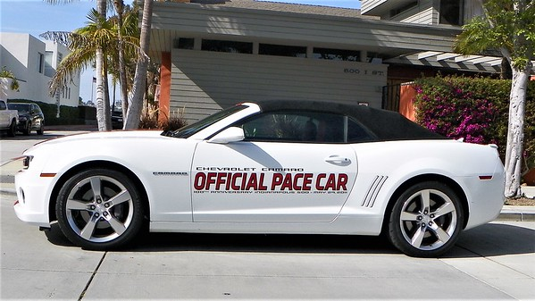Let's start with an Official Pace Car
