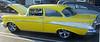 Yellow '57 Chevy