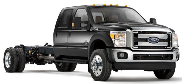 Ford F-450 / F-550 (6.8L V10) 2011 - 2012