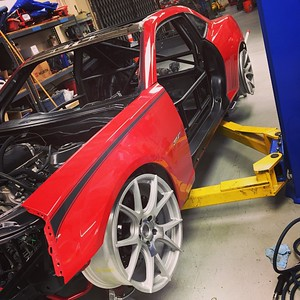Big Red Camaro Build