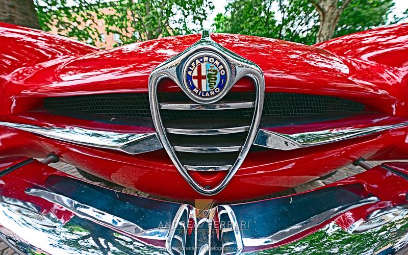 Historical car Alfa Romeo Giulia 55 (1)