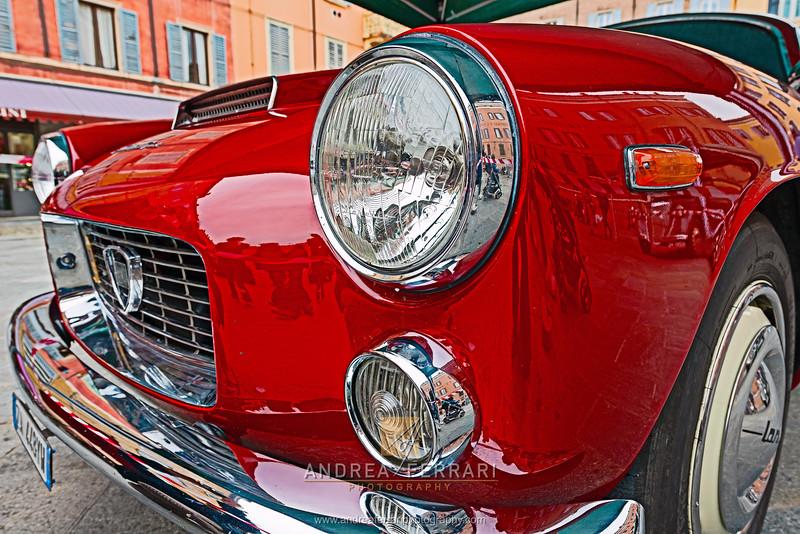 Historical car Lancia Flaminia Sport Zagato 2-8 3C 1963 (1)
