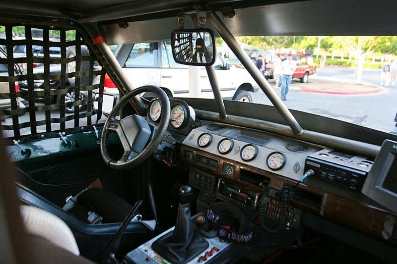 Gerry's Baja Classic - I love how much of the origional dash he preserved.  There's no mistaking this as anything other than a Land Rover!