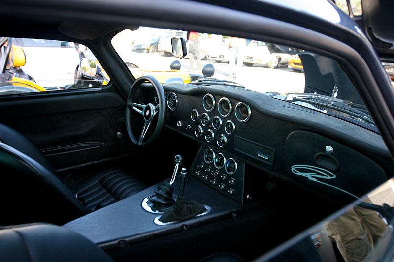 Personally signed cockpit of a Carol Shelby Daytona.
