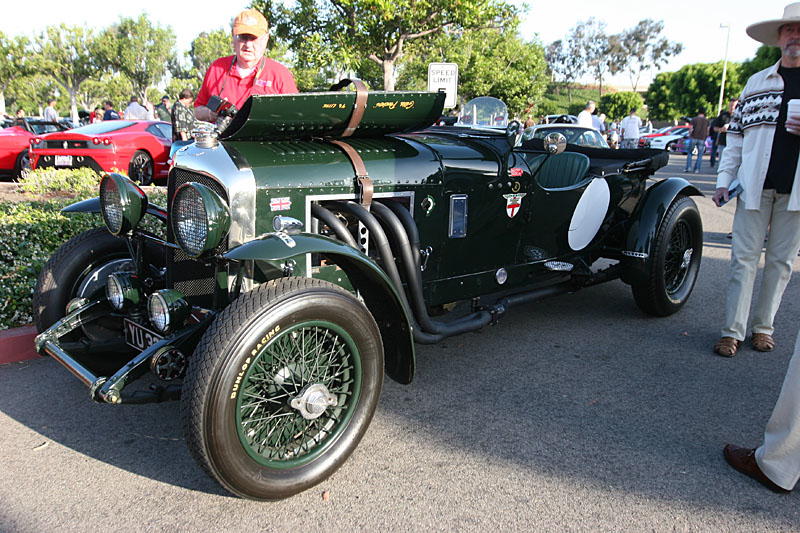 An awesome old Bentley, that looks fantastic, but well used.  Top Speed is rumored to be over 130 mph....