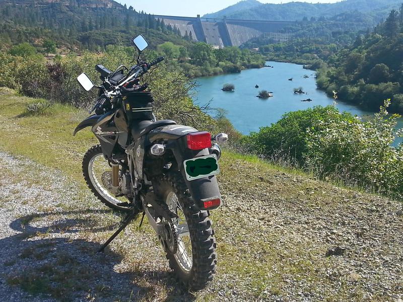 Suzuki DR-Z400S Shasta Dam