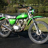 This isn't my Honda 125 but it looked just like this but the front fender on my bike didn't have that clearance. This was, and still is, my favorite motorcycle.