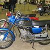 1965 Suzuki S32 150cc twin cylinder two-stroke. Similar to my first motorcycle.