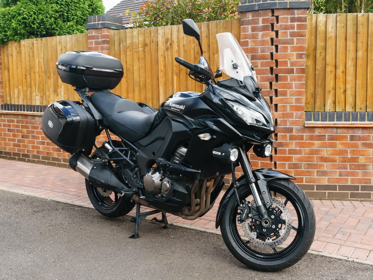 NOW SOLD - 2015 Versys 1000 GT for sale £7500