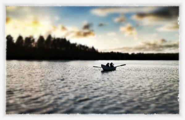 Lake Langen, near Jonkoping, Sweden.