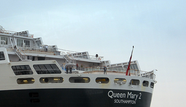 Queen Mary 2 in Southampton, England.