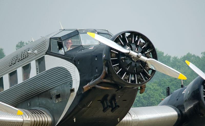 Pilot of Junkers Ju 52