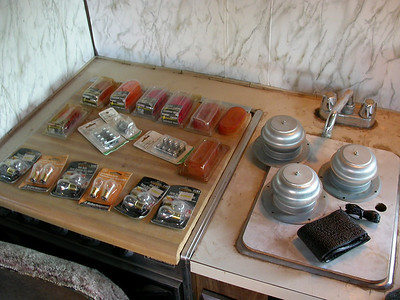 Freebies!  Goodies I found include a bunch of bulbs, marker lights, new vent caps, steeringwheel wrap...woo hoo!