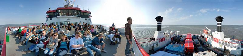 Ferry to Ameland