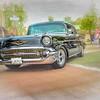57 Black Chevy