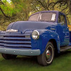 Blue Chevy Pickup