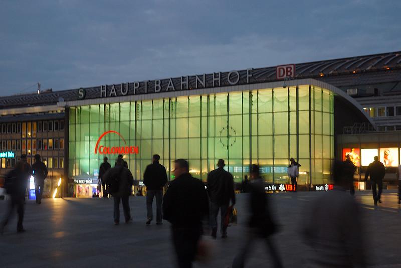 Cologne Station, Germany.