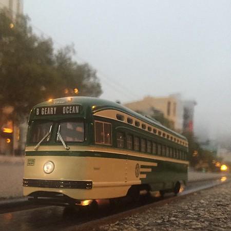 F-Train Market Street San Francisco