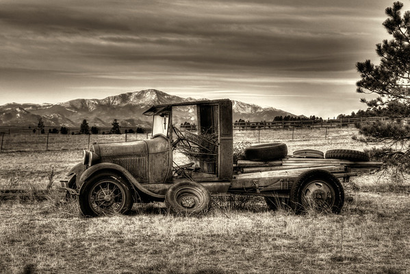 Old Cars, Trucks, Tractors