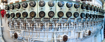 Valves, U.S.S. Alabama, Mobile, Alabama, 2004