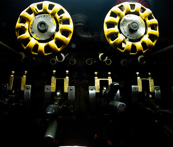 Torpedo tube valves, U.S.S. Clamagore, Mt. Pleasant, South Carolina, 2004