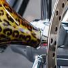Leopard Print Harley Wheel