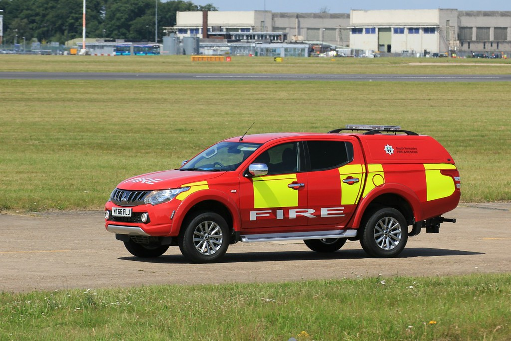 South Yorkshire Fire & Rescue  Mitsubishi ..............18th July 2017<br /> By Clive Featherstone.