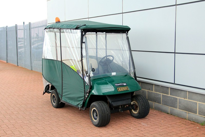 DSA's Golf Buggy for the Car Park Warden........3rd August 2017<br /> By Clive Featherstone