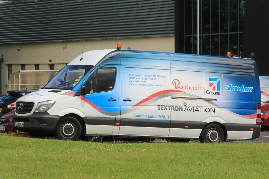 Textron Aviation Mecrcedes van.............3rd August 2017<br /> By Clive Featherstone.