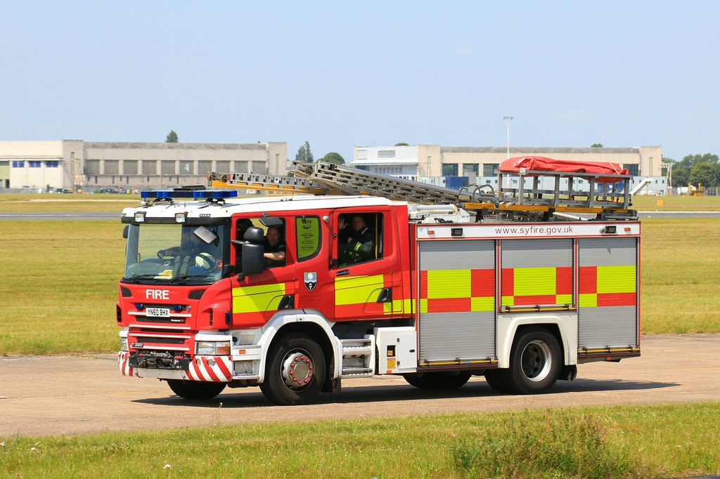 South Yorkshire Fire & Rescue ..............18th July 2017<br /> By Clive Featherstone.