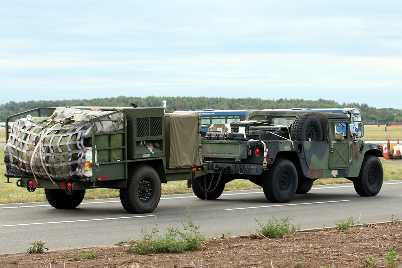 USAF Humvee...………. 14th August 2018<br /> By Clive Featherstone.