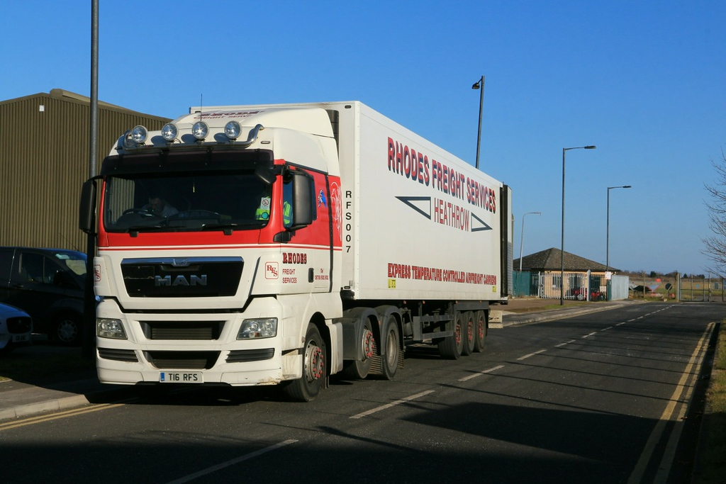 Rhodes Freight,  T16 RFS..................25th February 2018<br /> By Clive Featherstone.