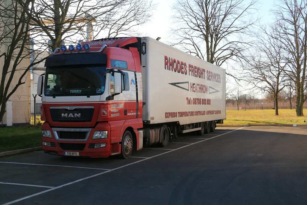 Rhodes Freight,  T19 RFS ........................25th February 2018<br /> By Clive Featherstone.
