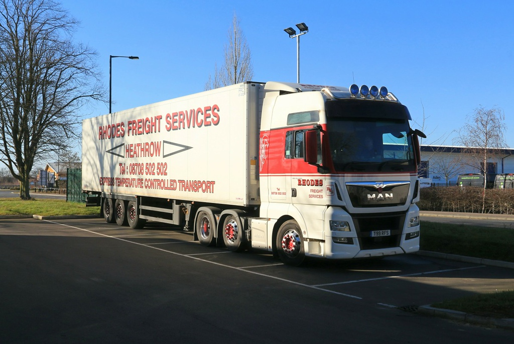 Rhodes Freight, T99 RFS ................25th February 2018<br /> By Clive Featherstone.