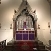 The High Altar ready for Passion Sunday