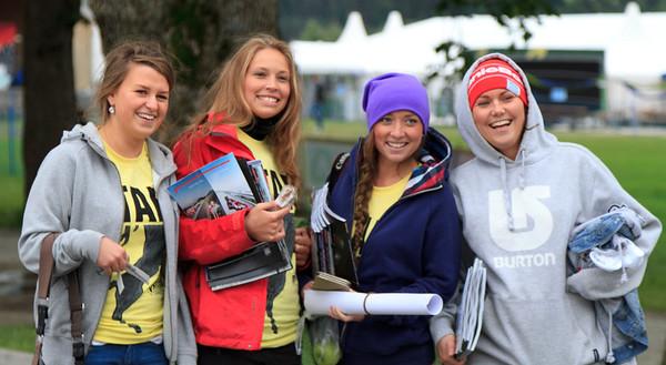 The crew, Prestegardslandet, 30th June 2011