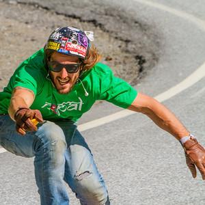 Longboarding, Skjervet, Voss Extreme Sprots Week 2012