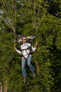 Sky Diving Show, Prestegardslandet