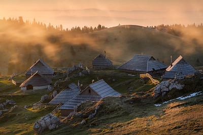Velika Plania - shepard's settlement
