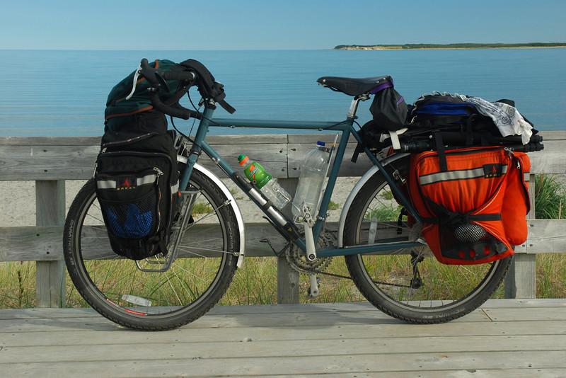 Vélo à Baie Shallow, parc national de Gros Morne, Terre-Neuve