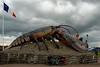 Giant lobster in Shediac