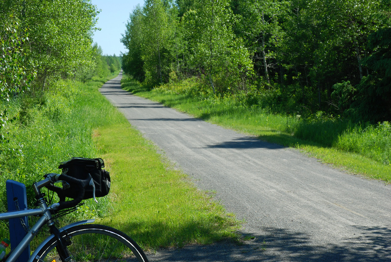 Parc linéaire des Bois-Francs - Route Verte #1
