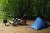 Camping vélo/piéton - Parc de la Yamaska