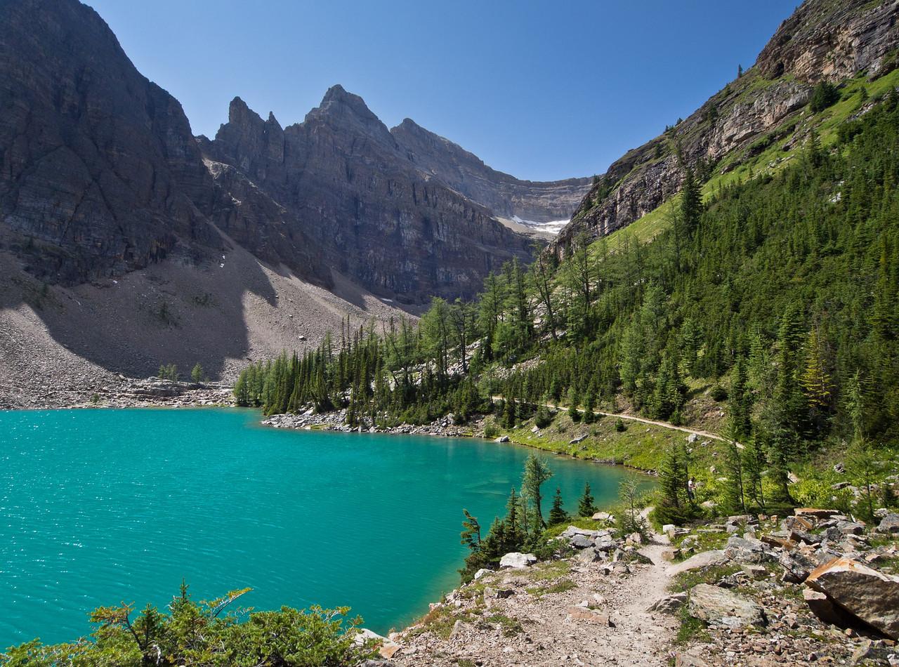 Lake Agnes trail