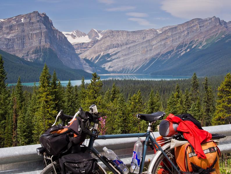 Vélo & Hector Lake