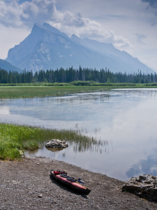 Vermilion lakes & Mount Rundle