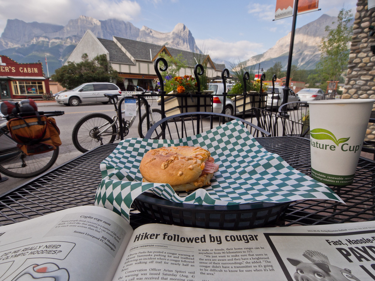 Breakfast in Canmore
