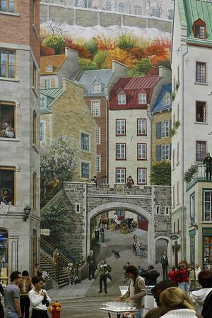 Murale - Ville de Québec Quebec City