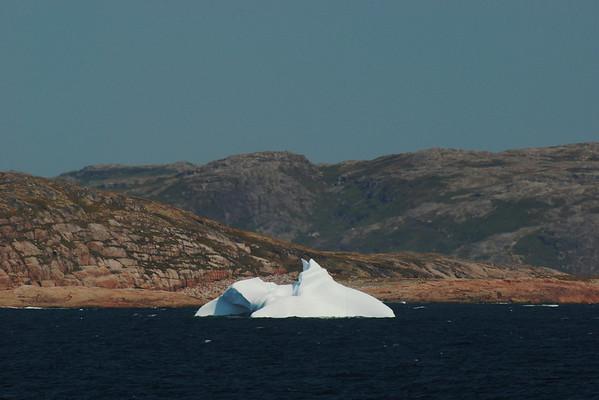 Iceberg vu du Nordik Express